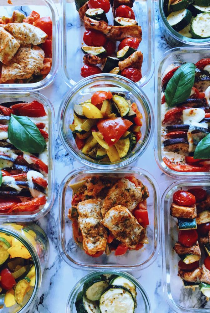 Meal Prep Mahlzeiten