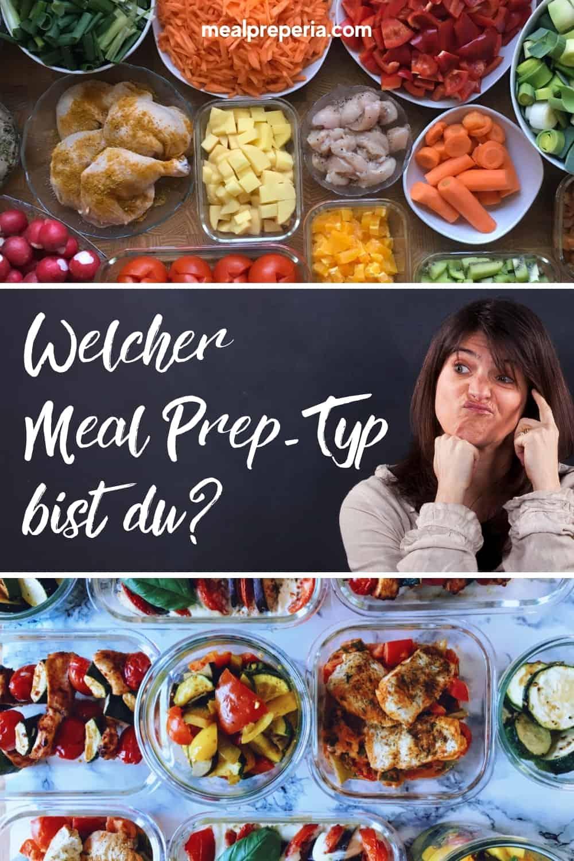 Pinterest - Bild Einfacher meal prep Start
