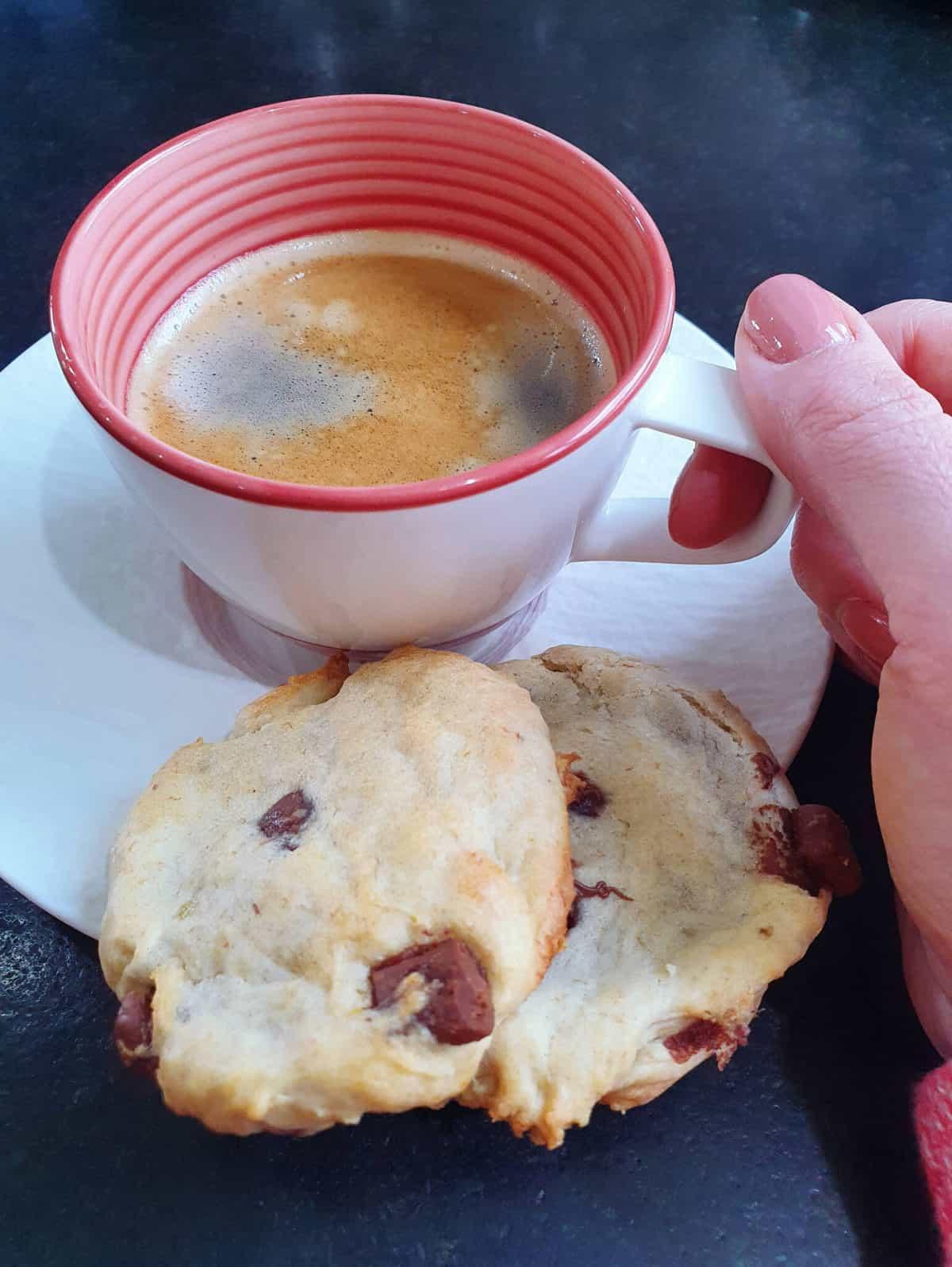 Banane-Schoko-Cookies 2