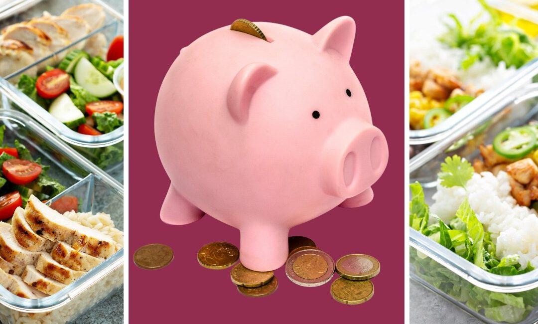 Einfach Geld sparen mit Meal Prep!